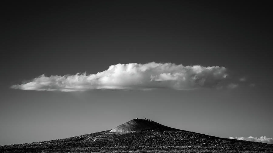 National Park Photograph - Hill And Cloud by Joseph Smith