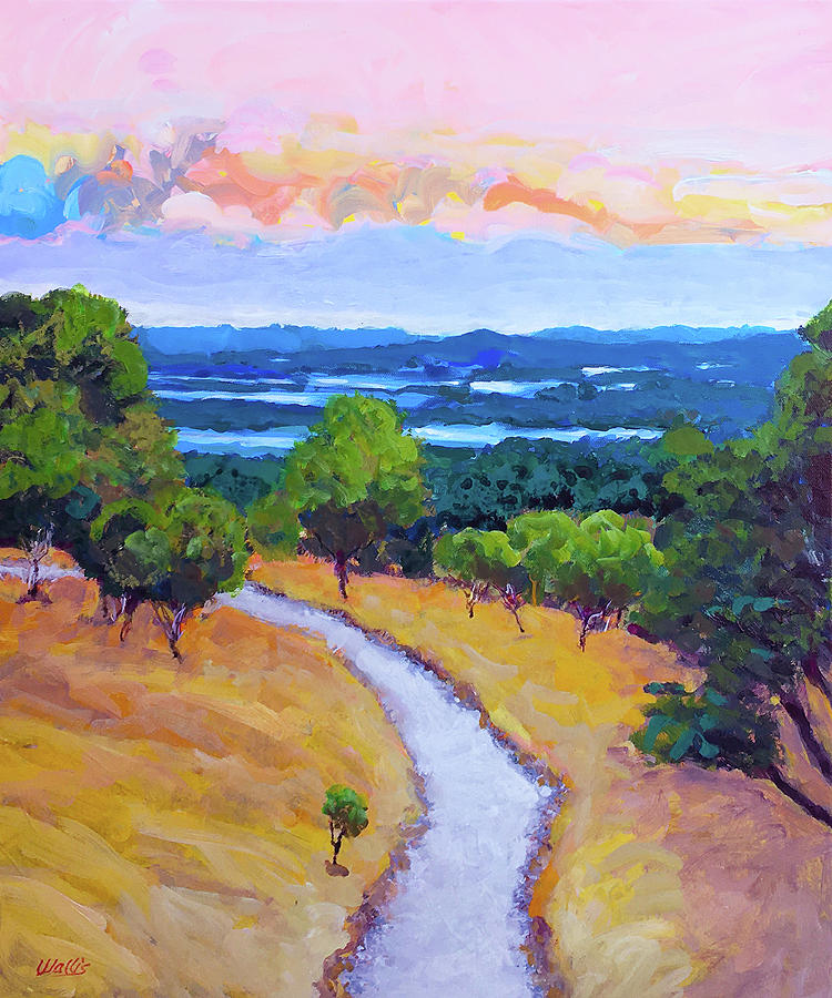 Hill Country Views Painting