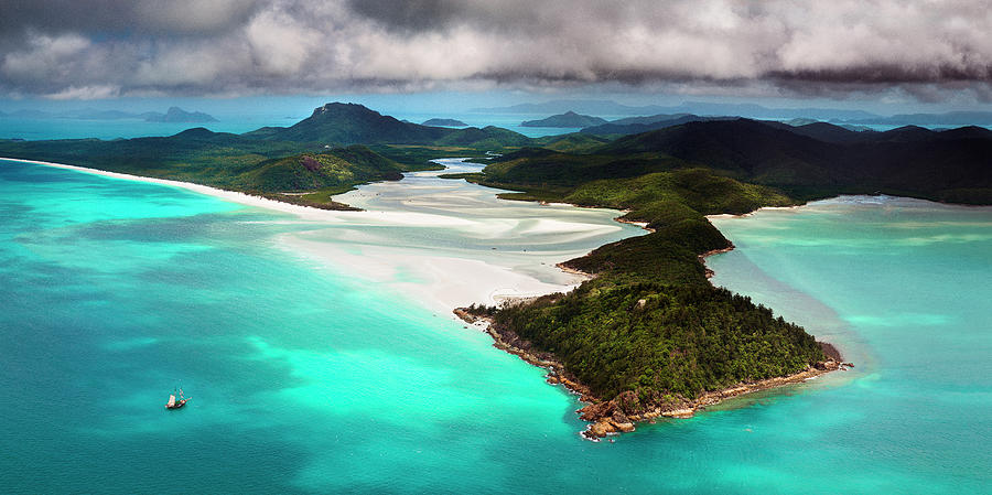 Hill Inlet Photograph by Bruce Hood