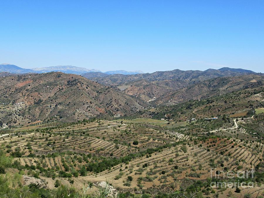 Hills near Pizarra by Chani Demuijlder