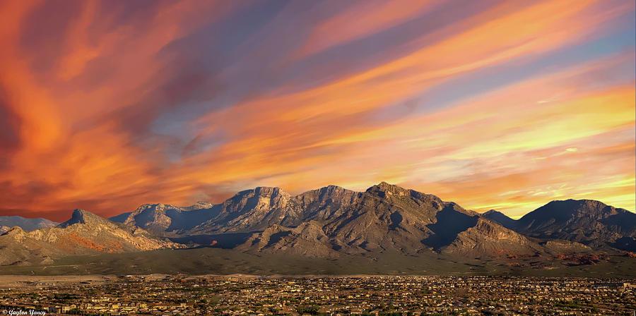 Hills of Las Vegas by Gaylon Yancy