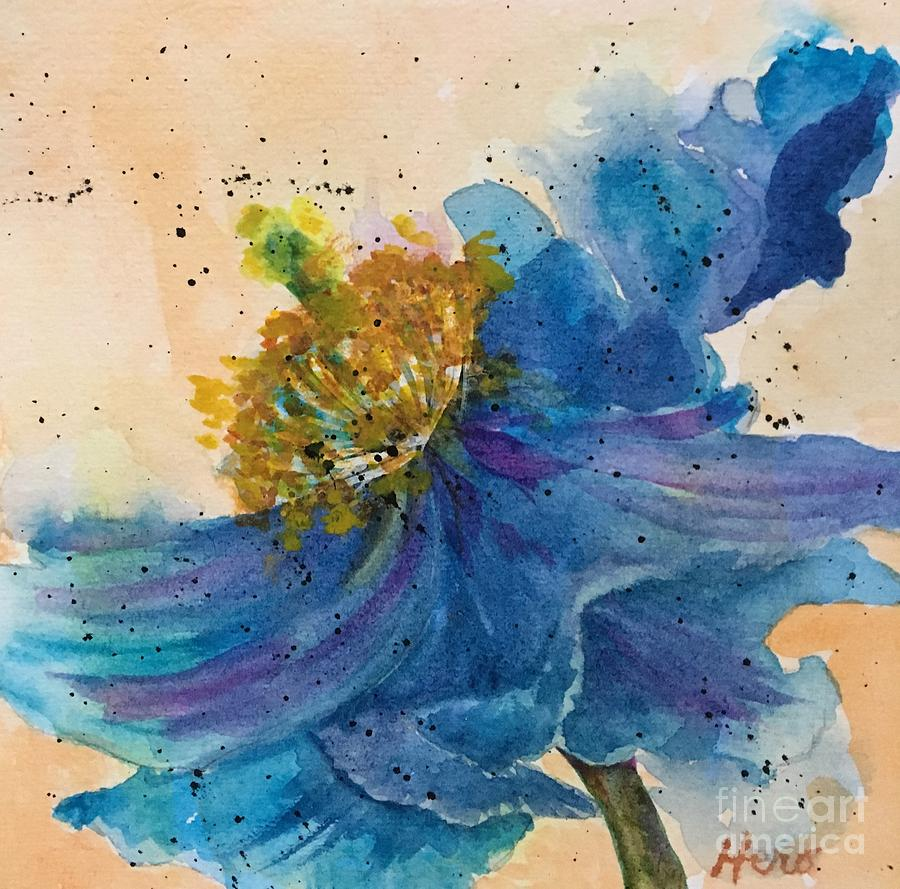 Himalayan Poppy 2 by Marcia Hero