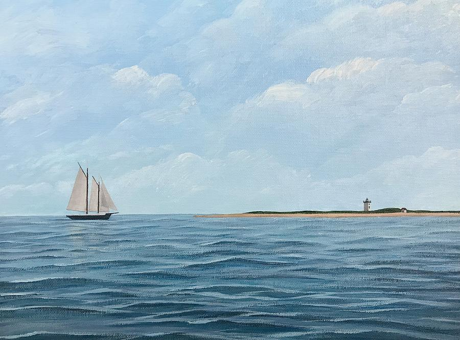 Provincetown Painting - Hindu At Long Point by Derek Macara