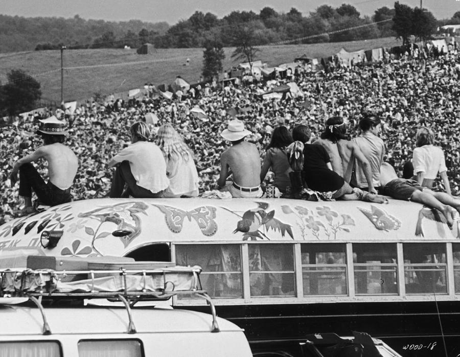 Hippy Bus Photograph by Archive Photos