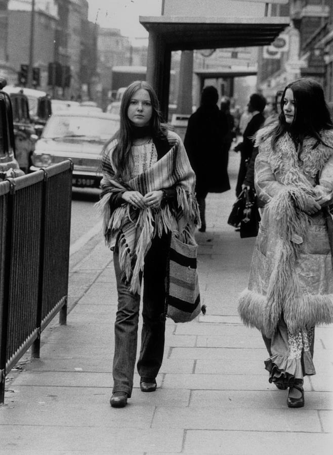 Hippy Fashion Photograph by Evening Standard