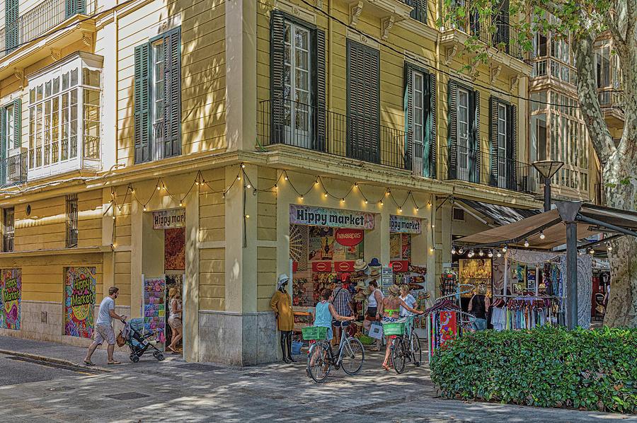 Hippy Market in Palma by Darryl Brooks