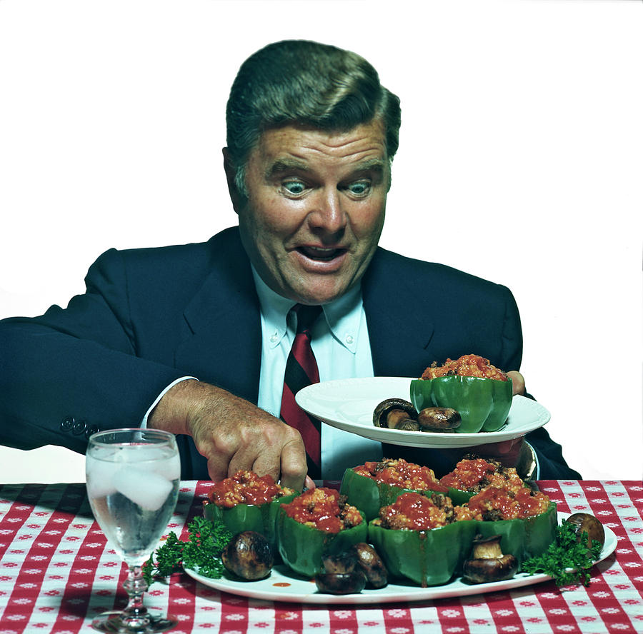His Favorite Meal Photograph by Tom Kelley Archive