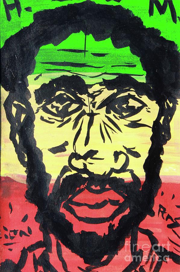 His Imperial Majesty Hallie Selassie by Odalo Wasikhongo