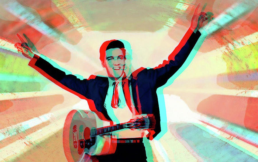 His ray Elvis 3D by Jayime Jean
