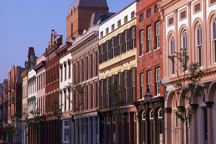 Historic District Buildings, Charleston Photograph by Visionsofamerica/joe Sohm