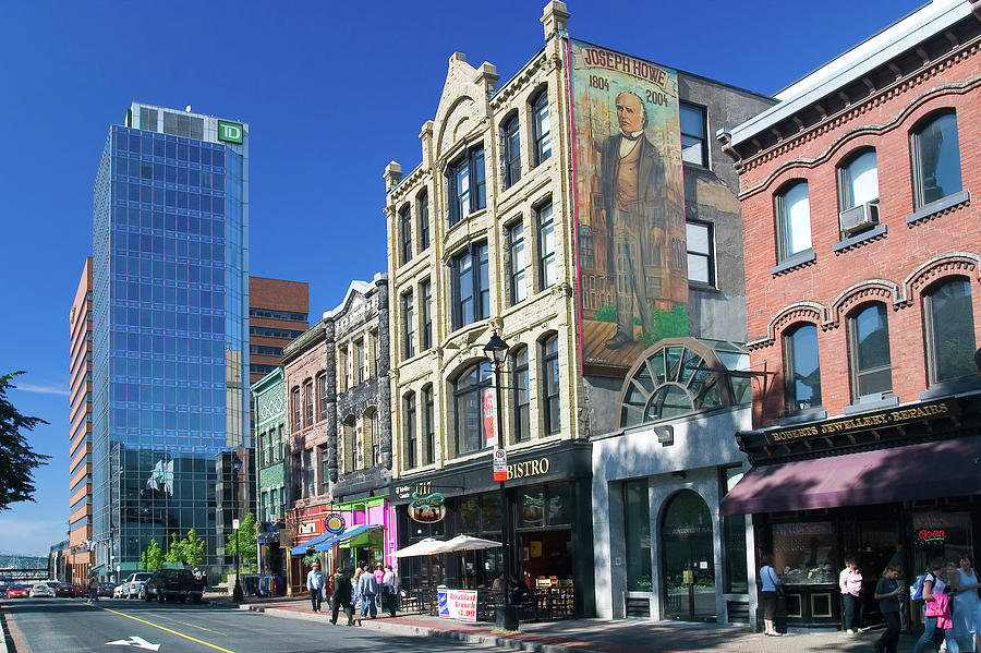 Historic Downtown Halifax Nova Scotia Photograph