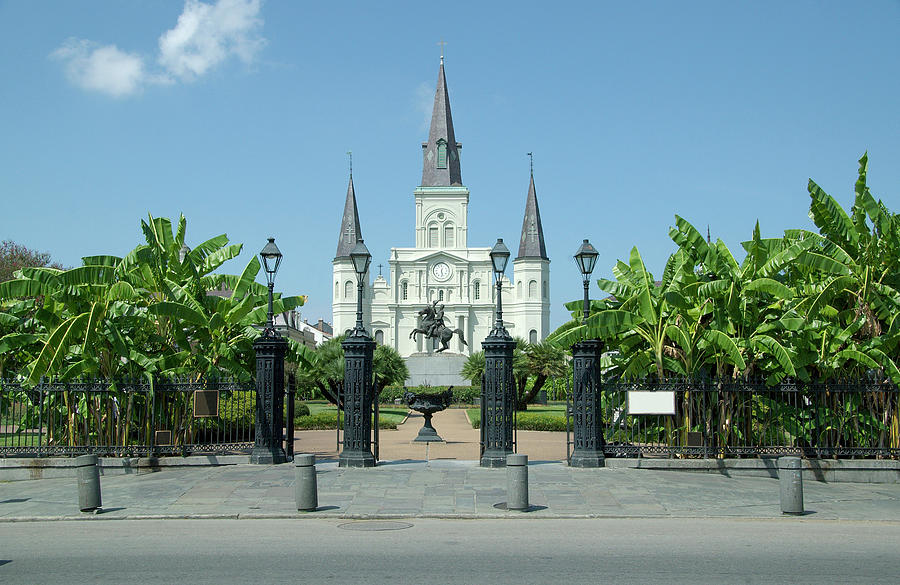 Historic Jackson Square, New Orleans Photograph by Pelicankate