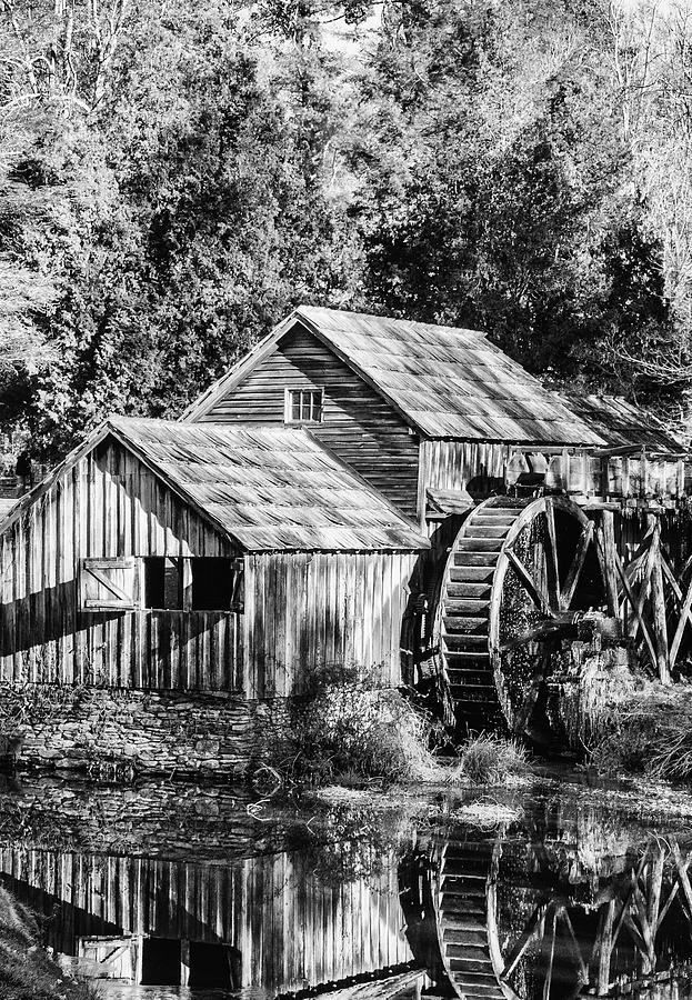 Historic Mabry Mill by Paul Croll