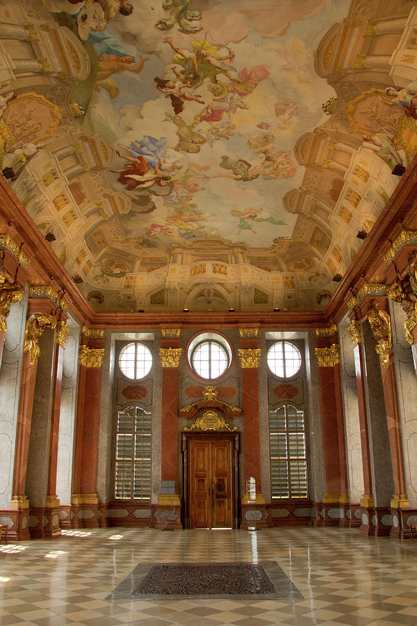 Historic Melk Abbey In Austria Photograph by David Epperson