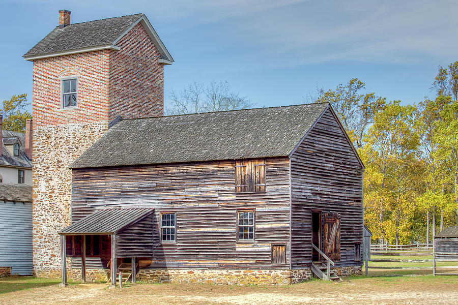 Historic Mill at Batsto by John A Megaw