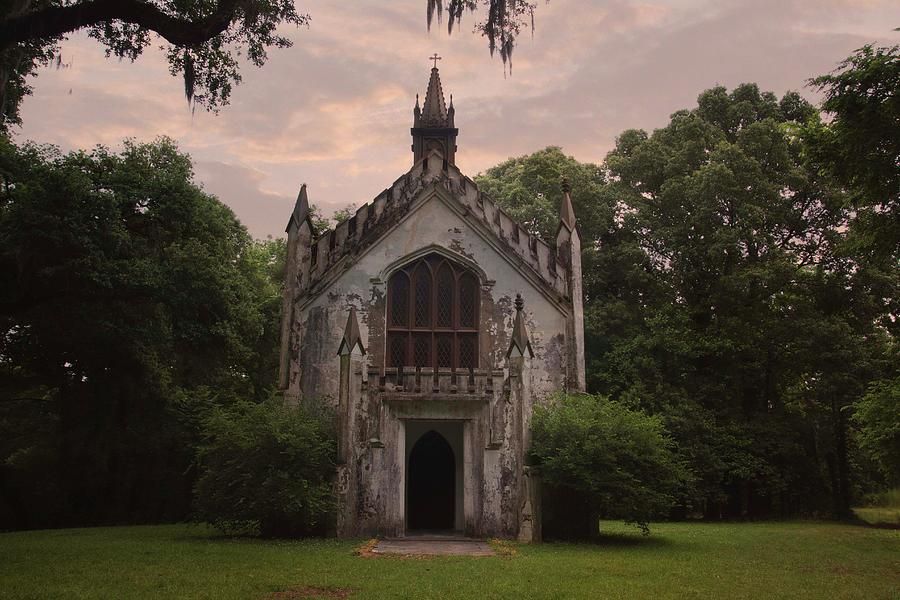 Historic Mississippi Church in the Woods by Kelly Gomez