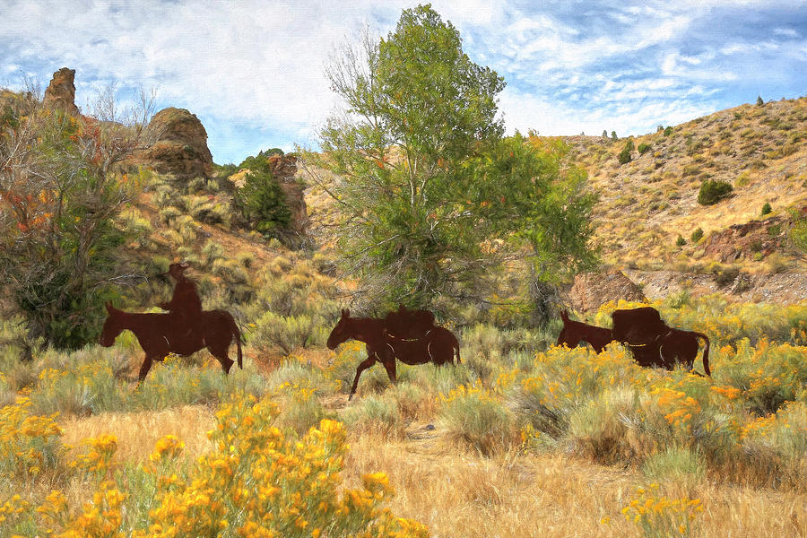 Old Spanish Trail Photograph - Historic Old Spanish Trail by Donna Kennedy