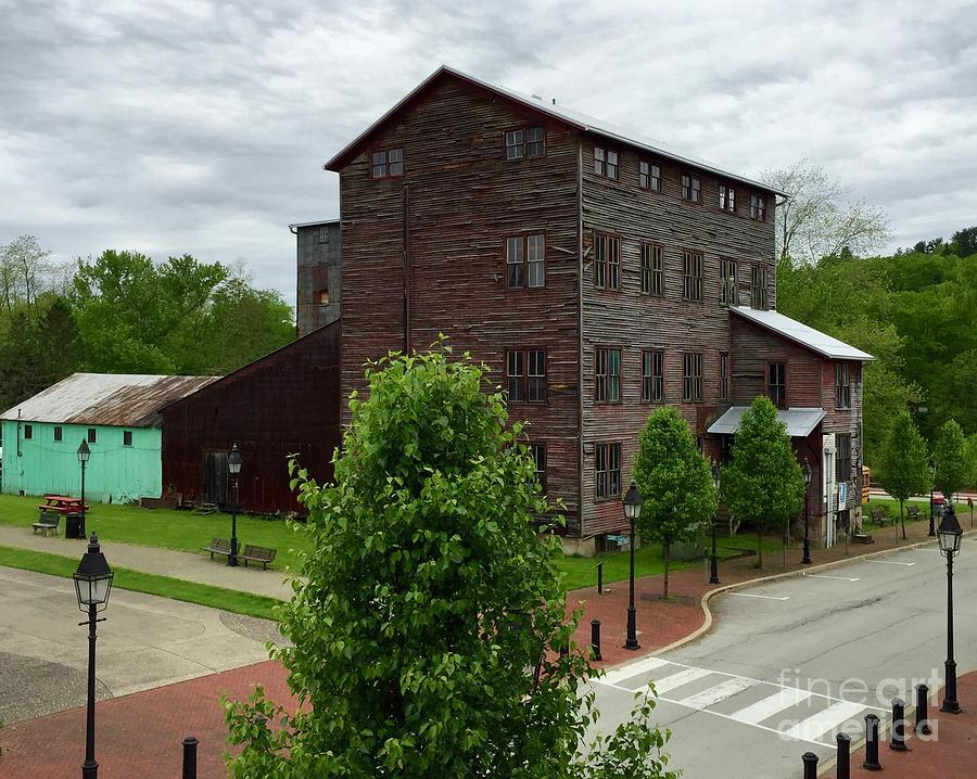Feed Store Photograph - Historic Patterson-altman Mill 2 by Megan Cohen