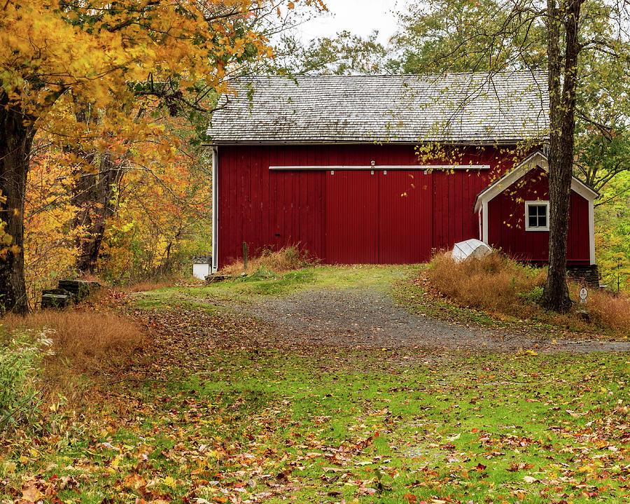 Historic Places - Corwin Farm Barn by Amelia Pearn