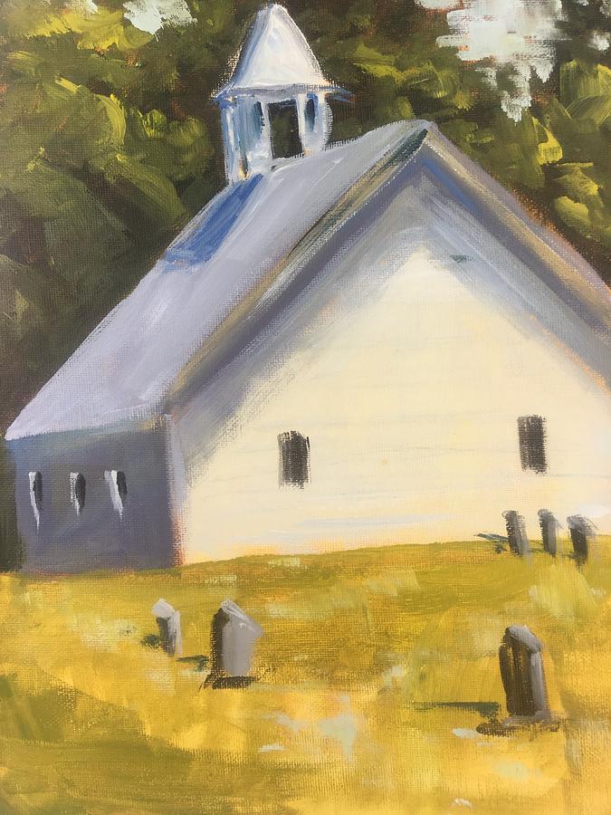 Historic Primitive Baptist Church by Susan Elizabeth Jones