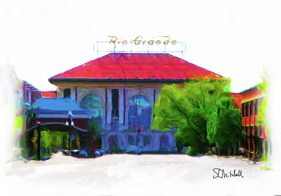 Historic Rio Grande Station by Stephen Mitchell