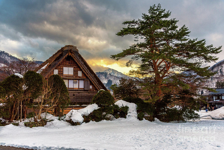 Historic Villages Of Shirakawa-go Photograph by Suttipong Sutiratanachai