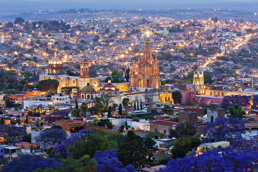 Historical Centre Of San Miguel De Photograph by Jeremy Woodhouse