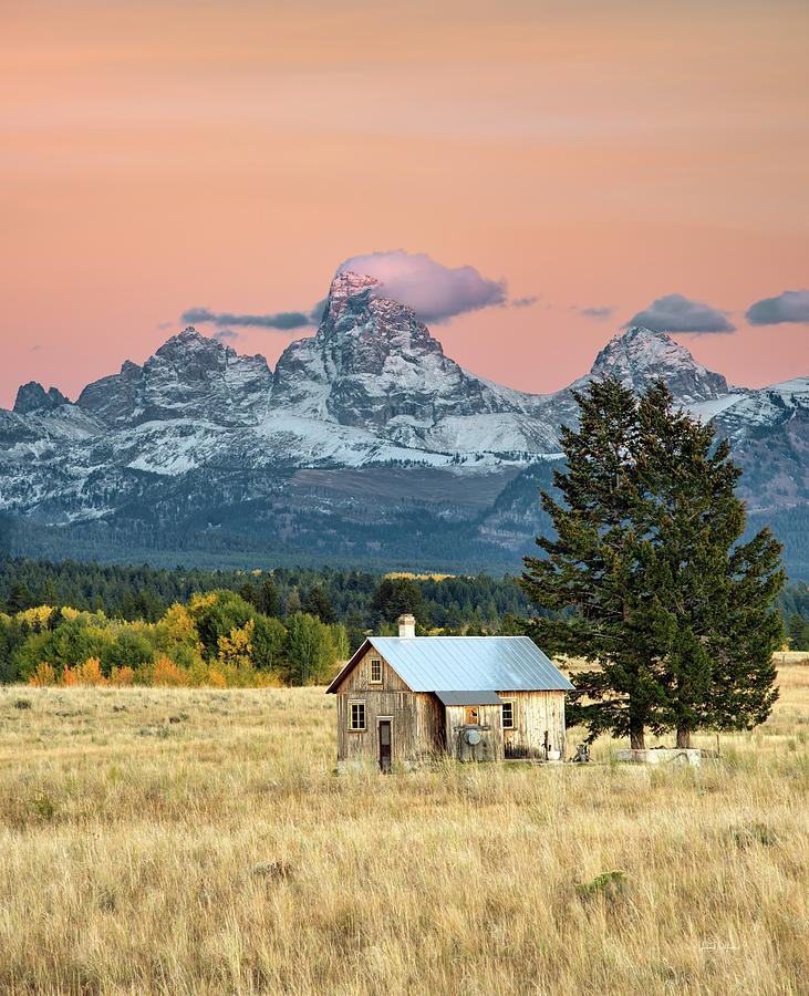 Historical Hollingshead Cabin by Leland D Howard