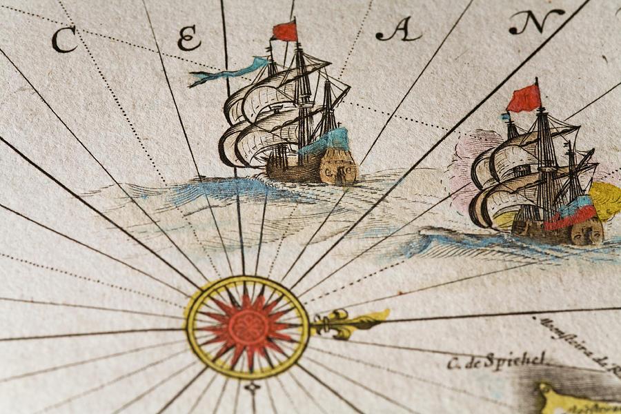 Historical Ships Digital Art by Goldhafen