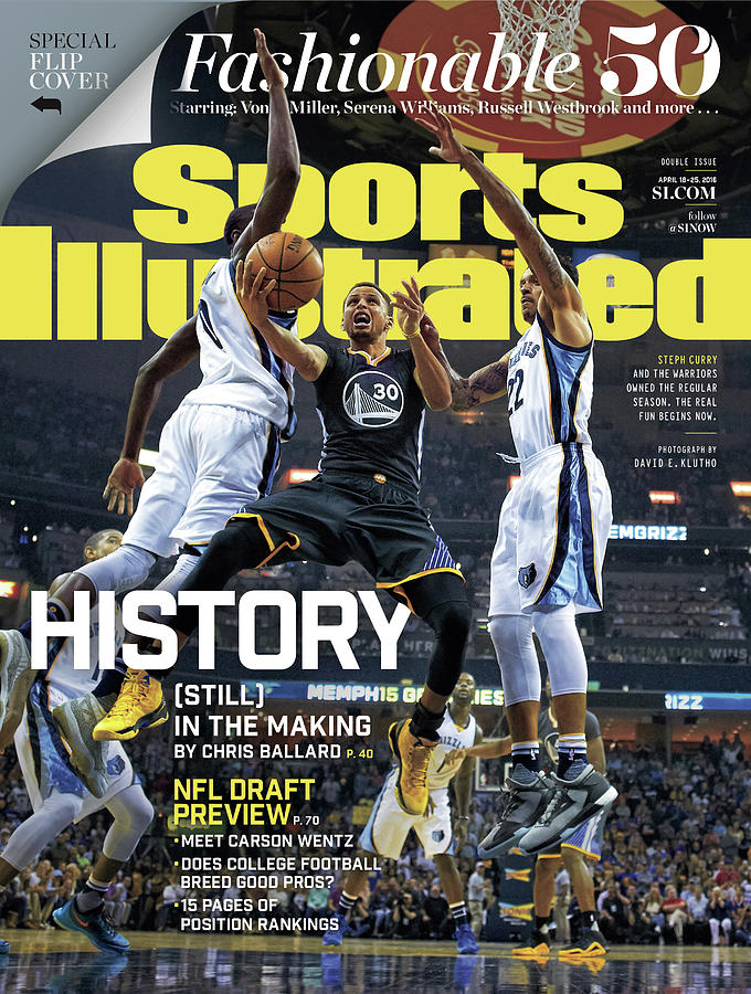 History still In The Making Sports Illustrated Cover Photograph by Sports Illustrated