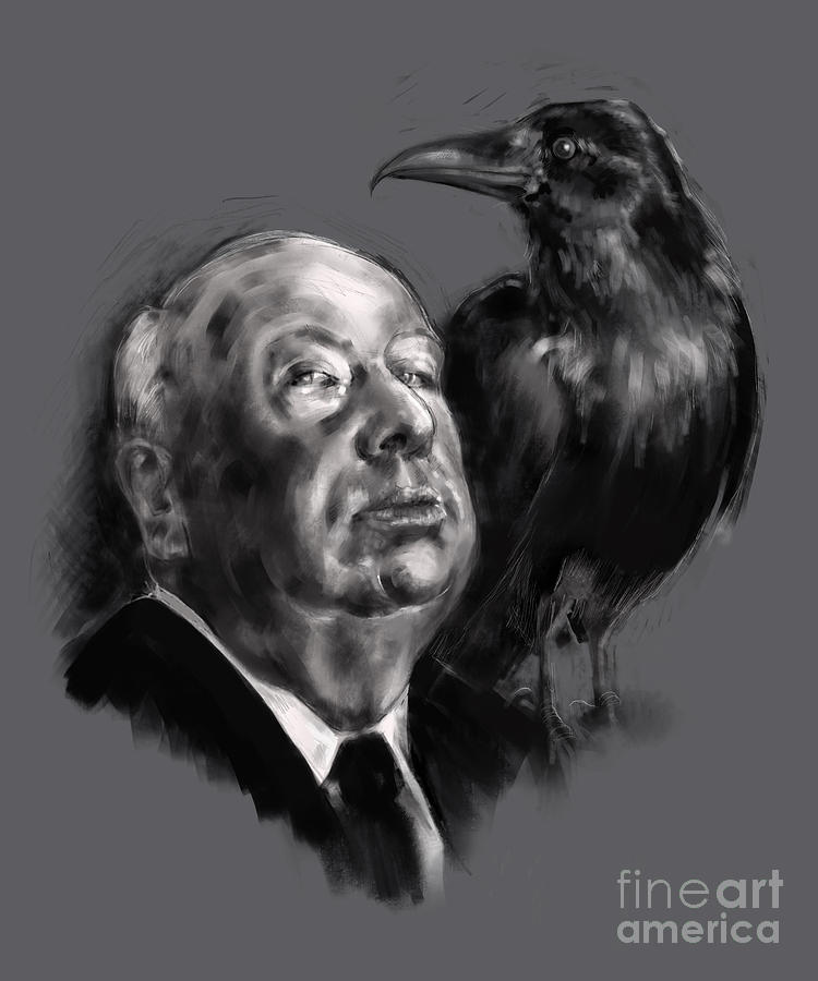 Hitchcock by Lora Serra
