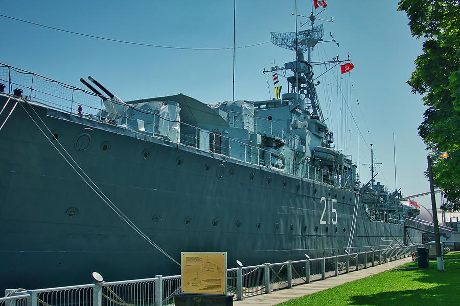 HMCS Haida by Meta Gatschenberger