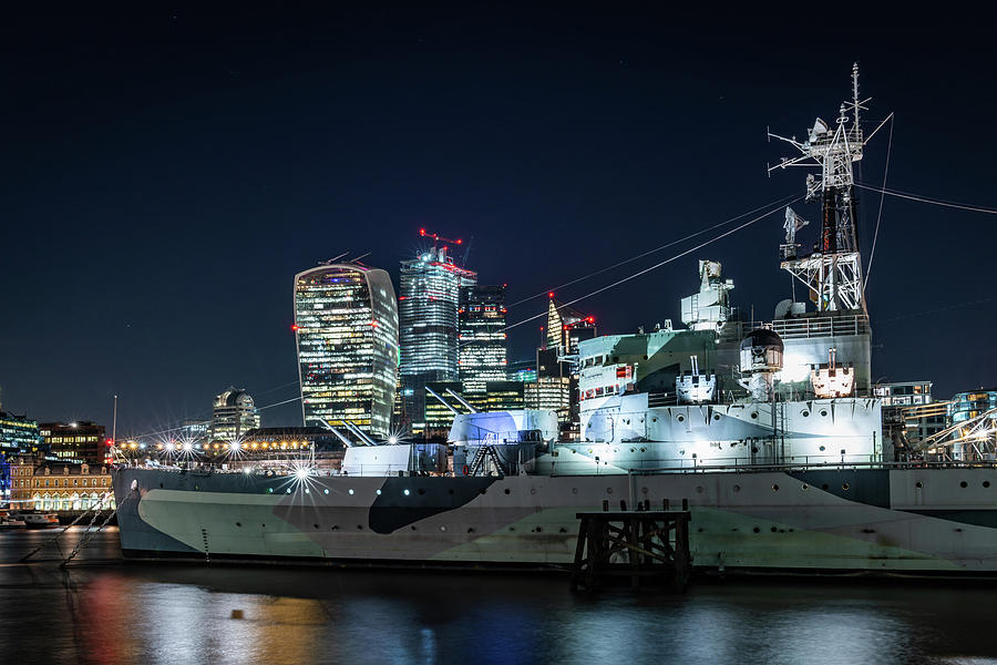 HMS Belfast Panorama by Framing Places