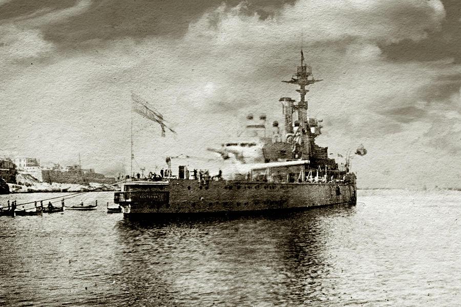 Hms Centurion Photograph by Duncan1890