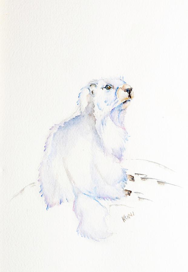 Hoary Marmot by Karen Rispin