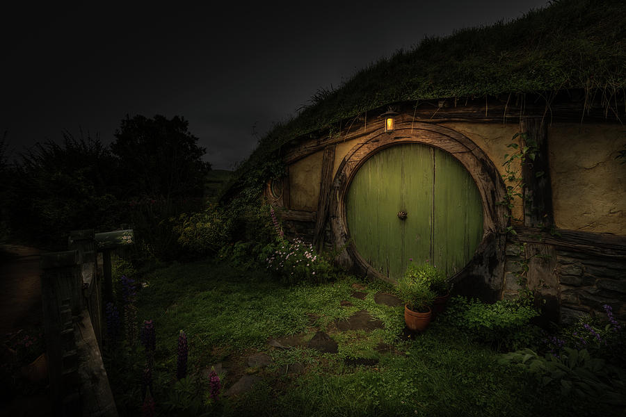 Hobbiton at Night #1 by Racheal Christian