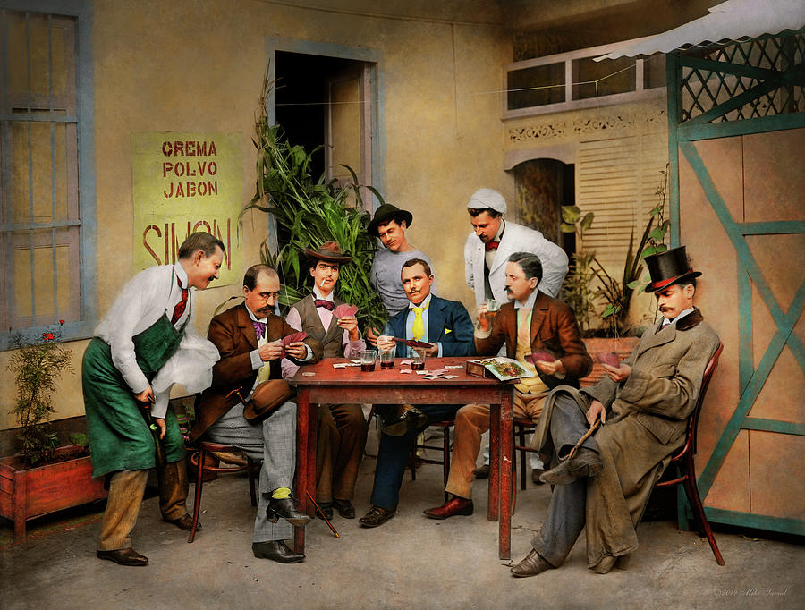 Hobby - Gambling - Deal me in 1905 by Mike Savad