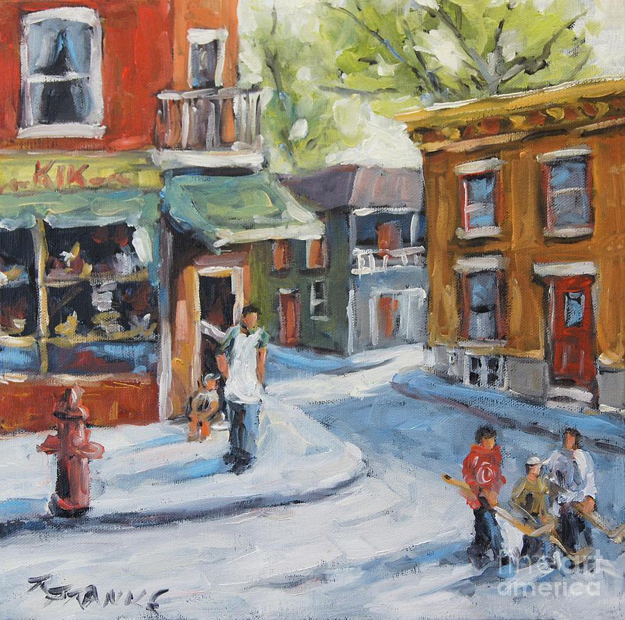 Hockey Kids in the Neighbourhood by Richard T Pranke