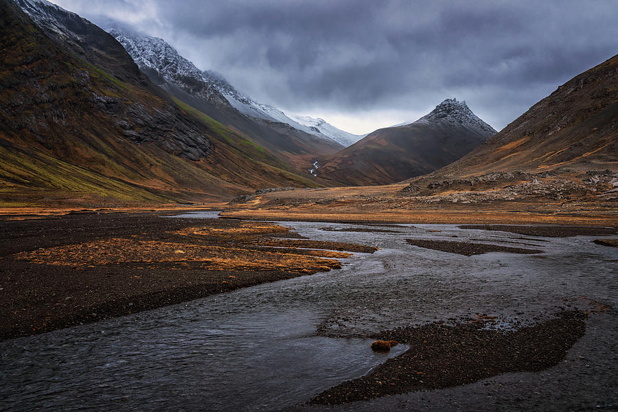 Iceland Photograph - Hoffell Canyon #1 by Framing Places