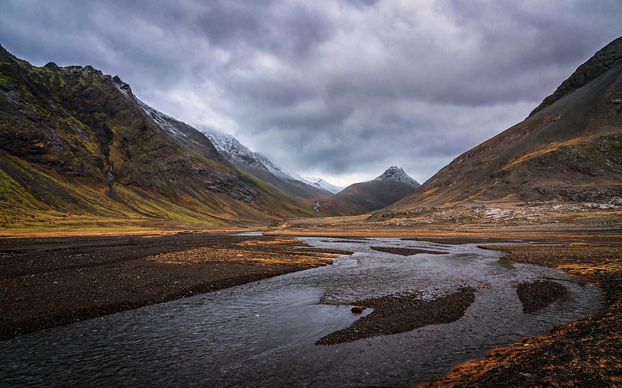 Iceland Photograph - Hoffell Canyon #2 by Framing Places