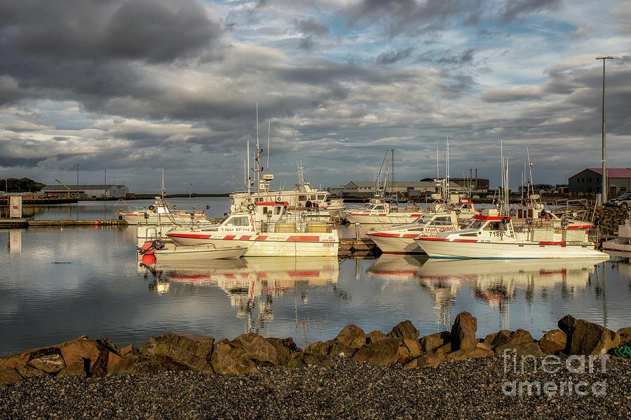 Hofn Harbor by Roxie Crouch