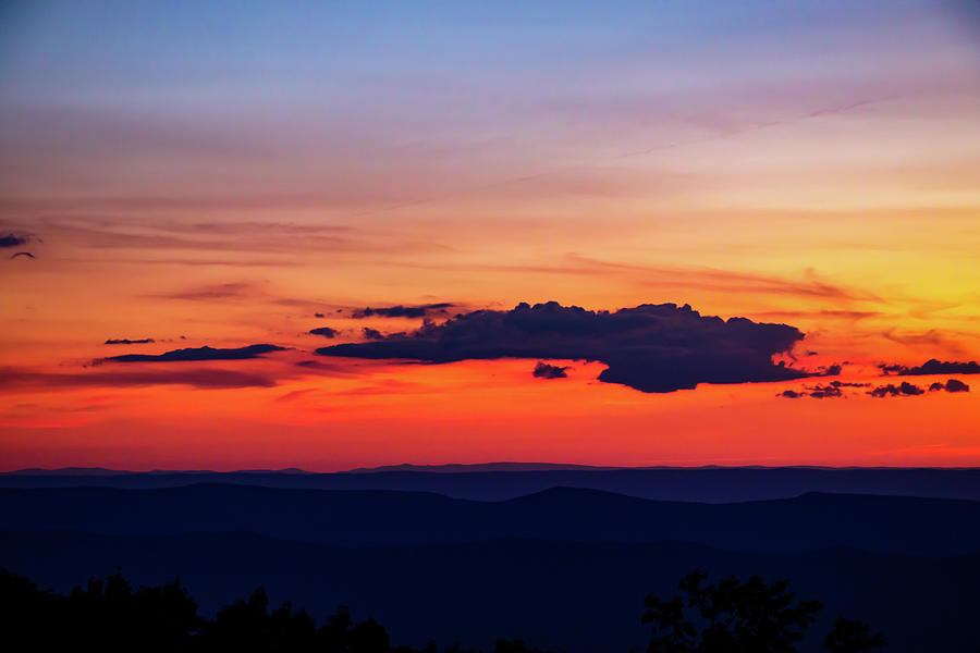 Hogback Mountain Sunset by Natural Vista Photo - Matt Sexton