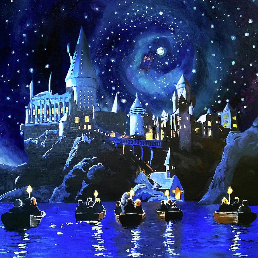 Hogwarts Painting - Hogwarts by Jaris Madani