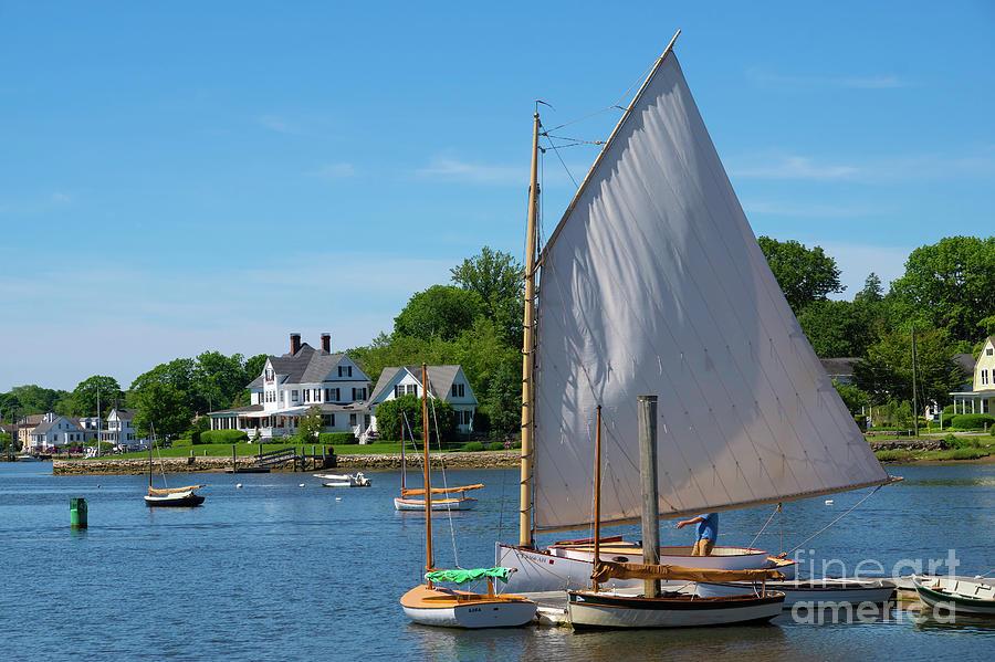 Hoisting Sail by Joe Geraci