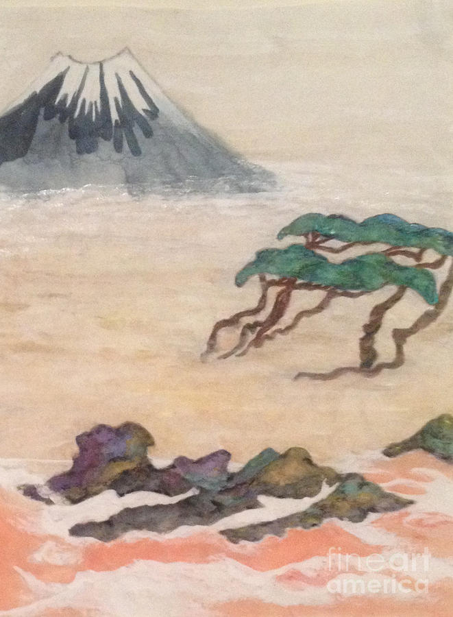 Rinpa Painting - Hoitsu through the eyes of modernity turned backward by Sawako Utsumi