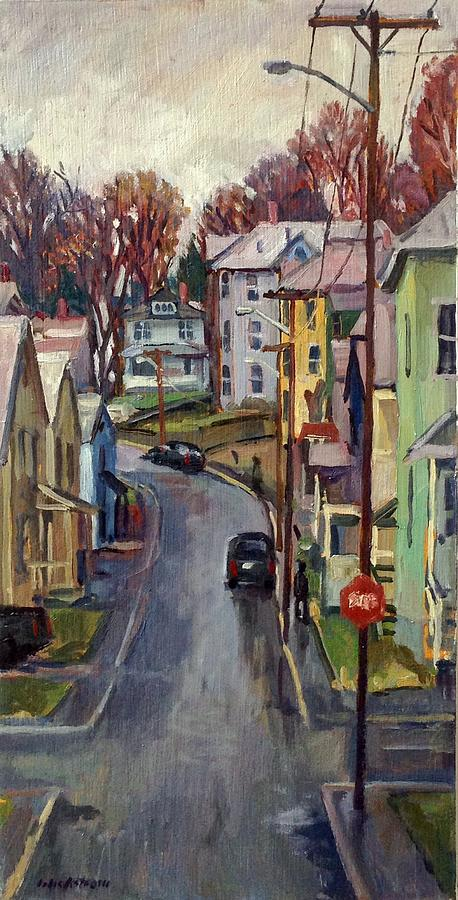 Holden Street Autumn Rain by Thor Wickstrom