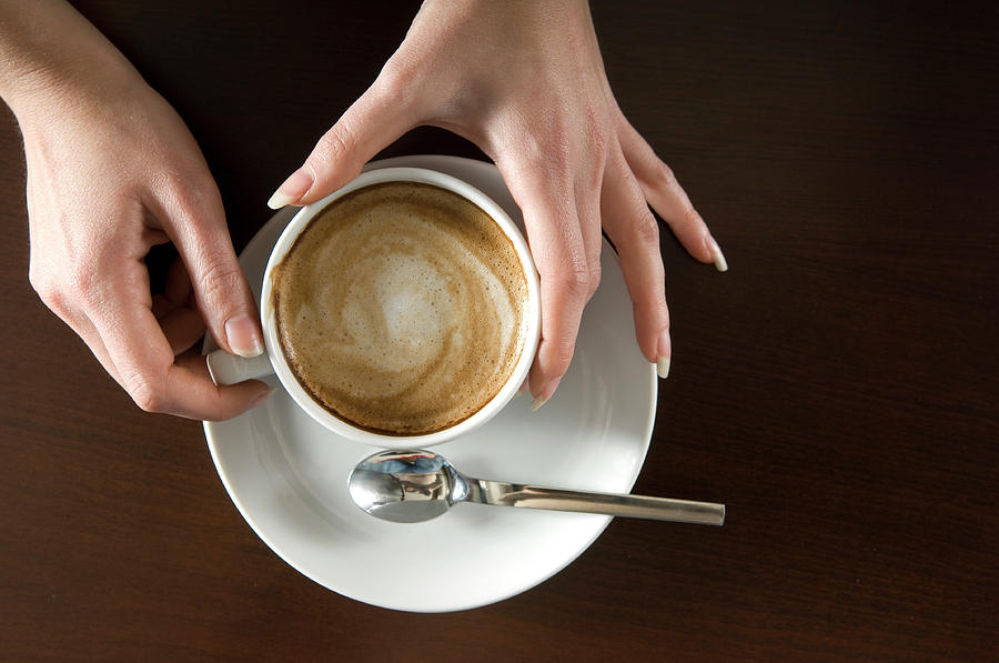 Holding Cappuccino Photograph by 1001nights