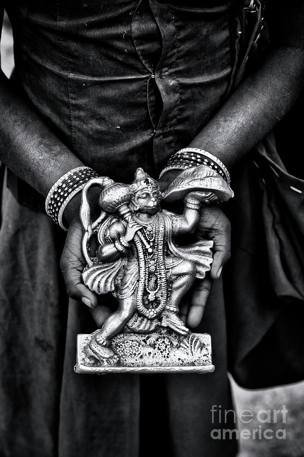Holding Hanuman by Tim Gainey