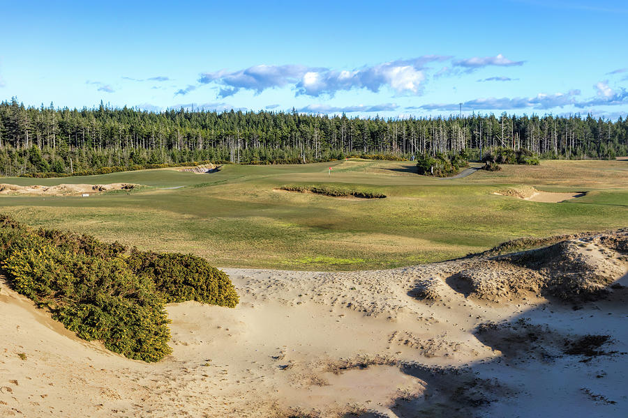 Hole 2 Old Macdonald Golf Course by Mike Centioli