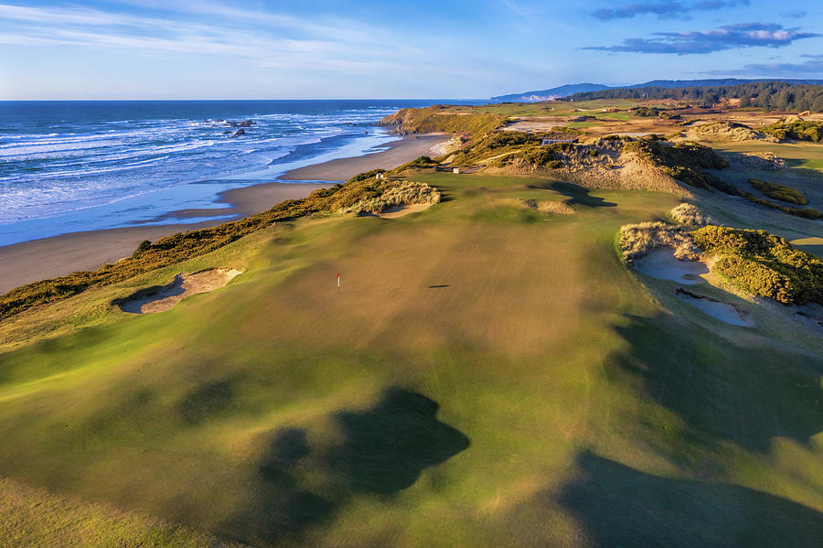 Hole 7 Old Macdonald Golf Course by Mike Centioli